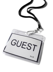 guest badge