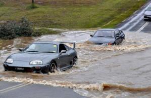 drive through water