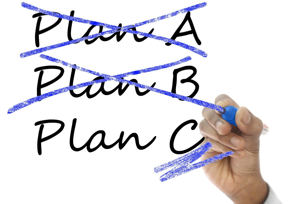 """Shake Things Up and go with """"Plan C"""" 